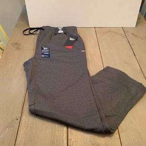 Reebok Performance Knit/Fleece Men's Joggers -Gray